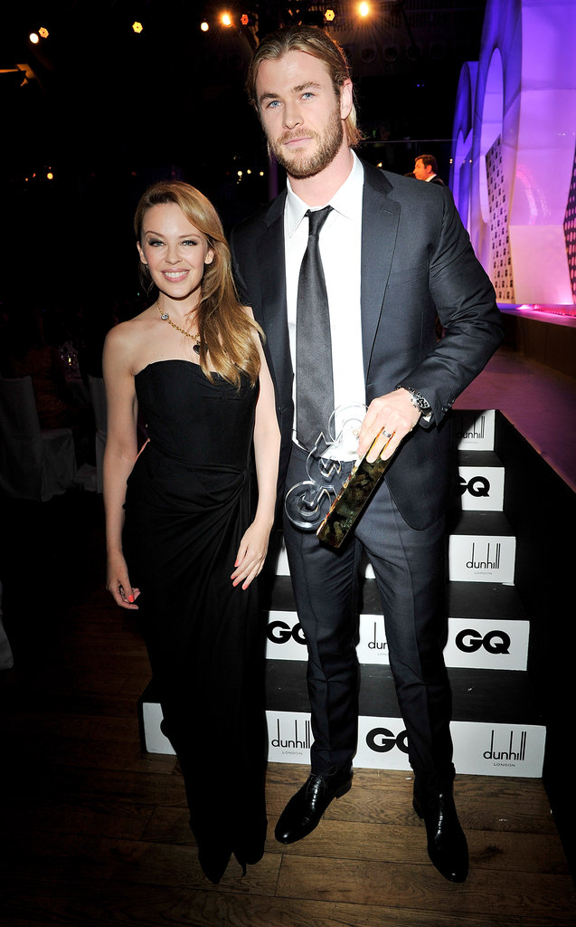 Kylie Mongue & Chris Hemsworth