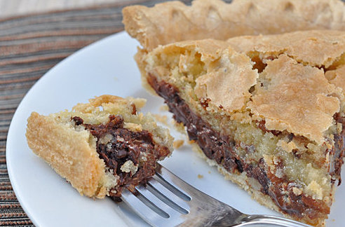 To Die For Chocolate Chip Cookie Pie