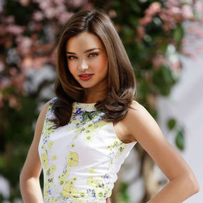 Miranda Kerr At Sydney Botanical Gardens As New Face Of Clear Scalp & Beauty Therapy
