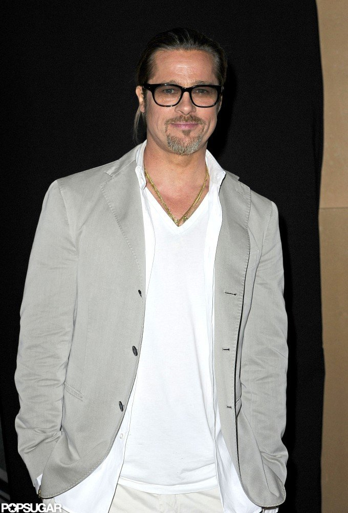Brad Pitt was at the Mayfair Hotel in London for a screening of Killing Them Softly.