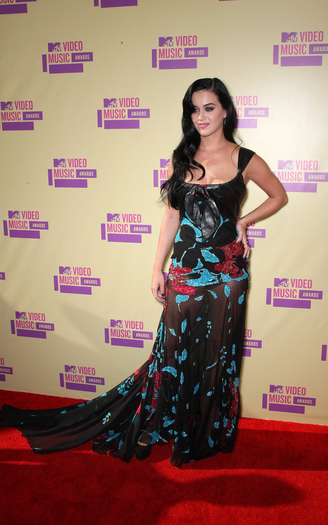 Katy Perry attended the 2012  MTV Video Music Awards.