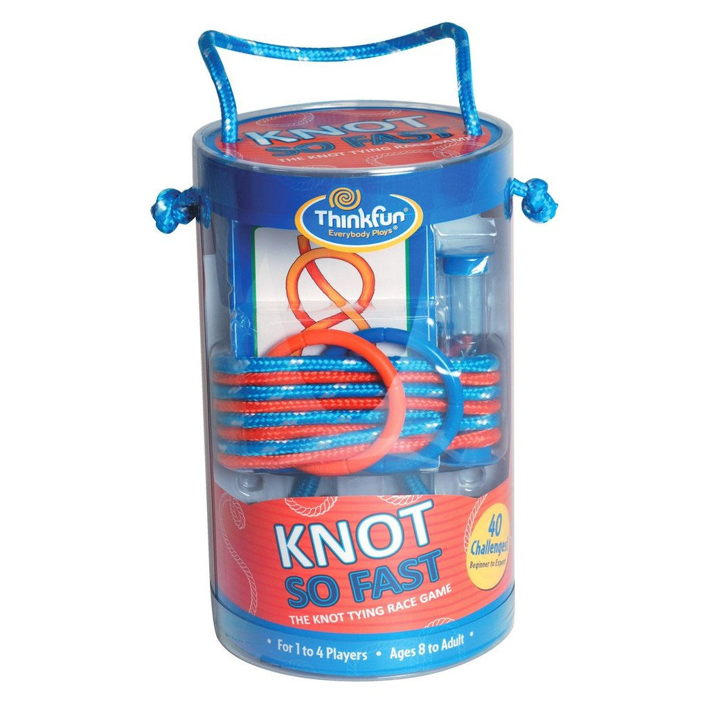 Think Fun: Knot So Fast ($20)