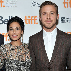 Ryan Gosling, Girlfriend Eva Mendes And Bradley Cooper At Toronto
