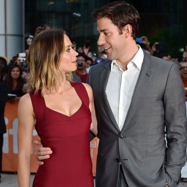 Pictures Of Emily Blunt And John Krasinski At Toronto Film Festival