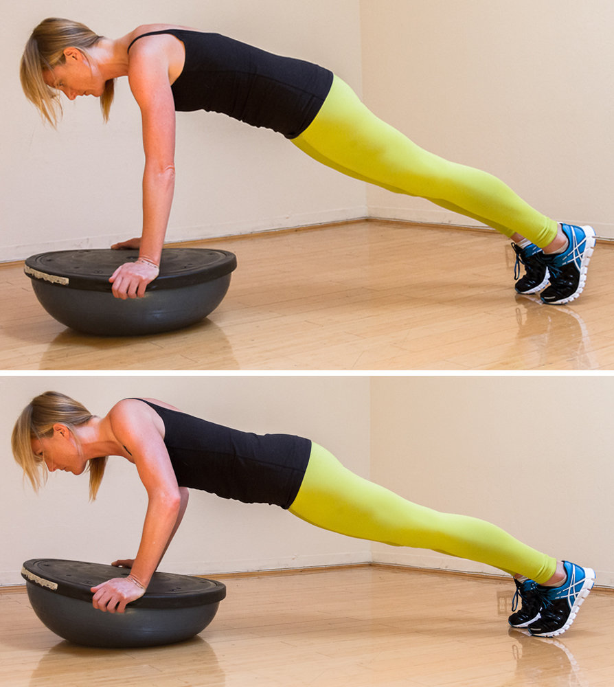 Bosu Ball Side Jumps: Skip Class, Get On The Ball Instead! A Total
