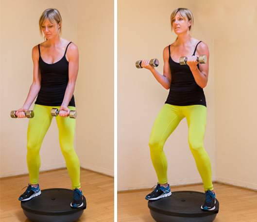 Bosu Ball Running: 10 Moves You Can Do With A BOSU