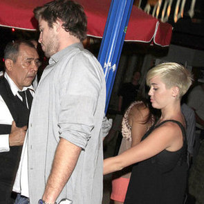 Miley Cyrus Out in LA With Liam Hemsworth   Pictures