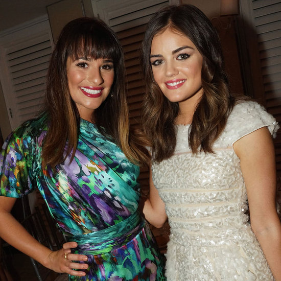 Lea Michele, Lucy Hale, Elisha Cuthbert Pictures at Nylon Magazine Party