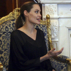 Angelina Jolie Visits Iraq   Pictures