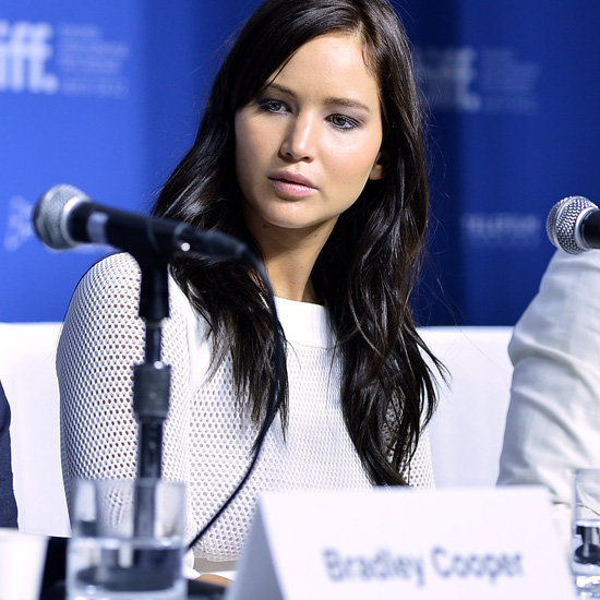 Pictures Of Jennifer Lawrence With Dark Hair At Toronto Film Festival