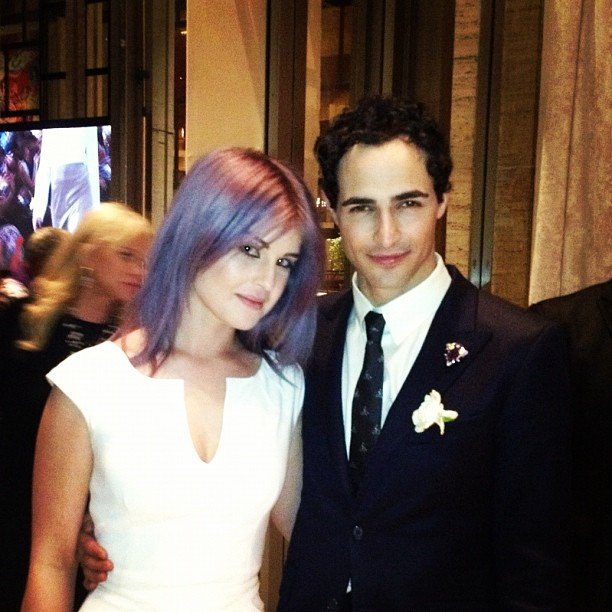 Kelly Osbourne met up with pal Zac Posen in NYC. Source: Instagram user kellyosbourne