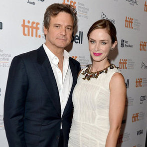 Colin Firth And Emily Blunt At Toronto
