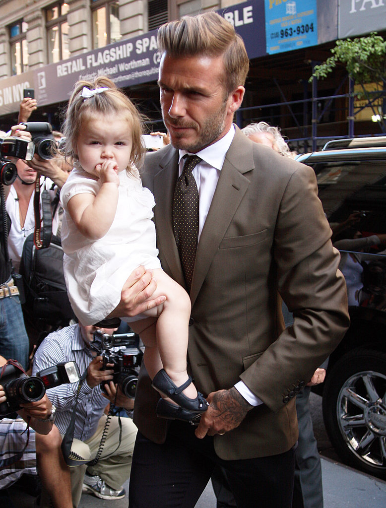 Victoria Beckham Celebrates Her NYFW Show With David and Harper