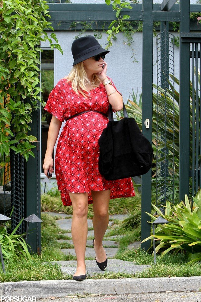 Reese Witherspoon ran errands in LA.