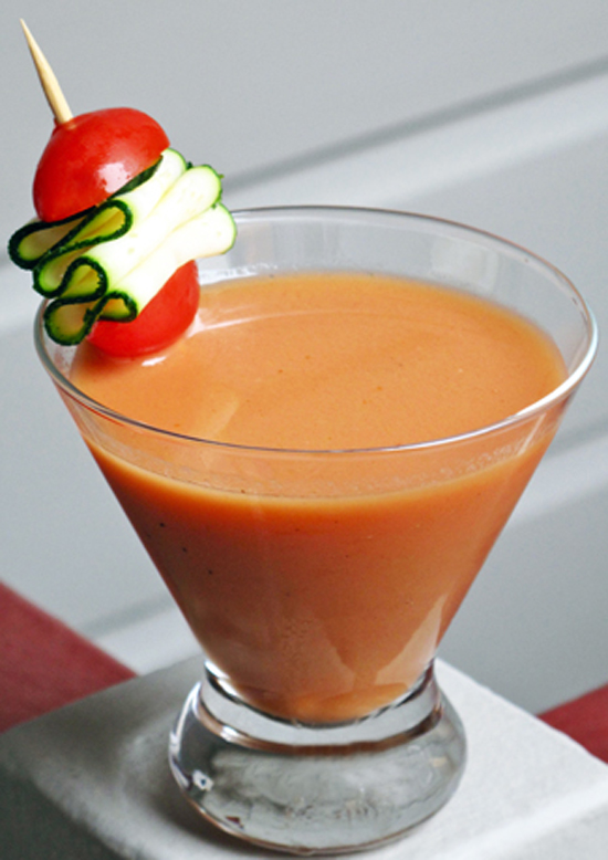 The Contemporary: Gazpacho Bloody Mary