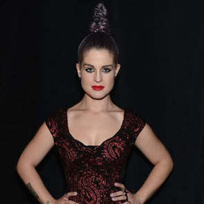 Kelly Osbourne Front Row at Marc Jacobs With a High Braided Bun, Get the Look
