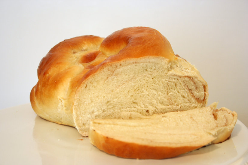 Inside the Challah