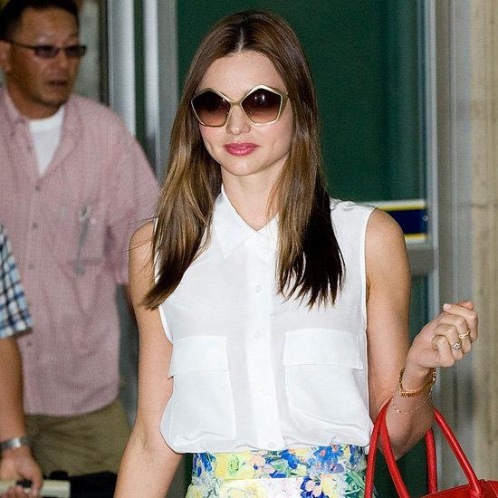 Miu Miu Sunglasses (Celebrity Pictures)