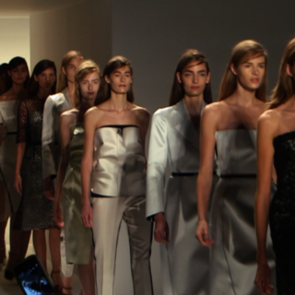 Calvin Klein Spring 2013 Runway (Video)