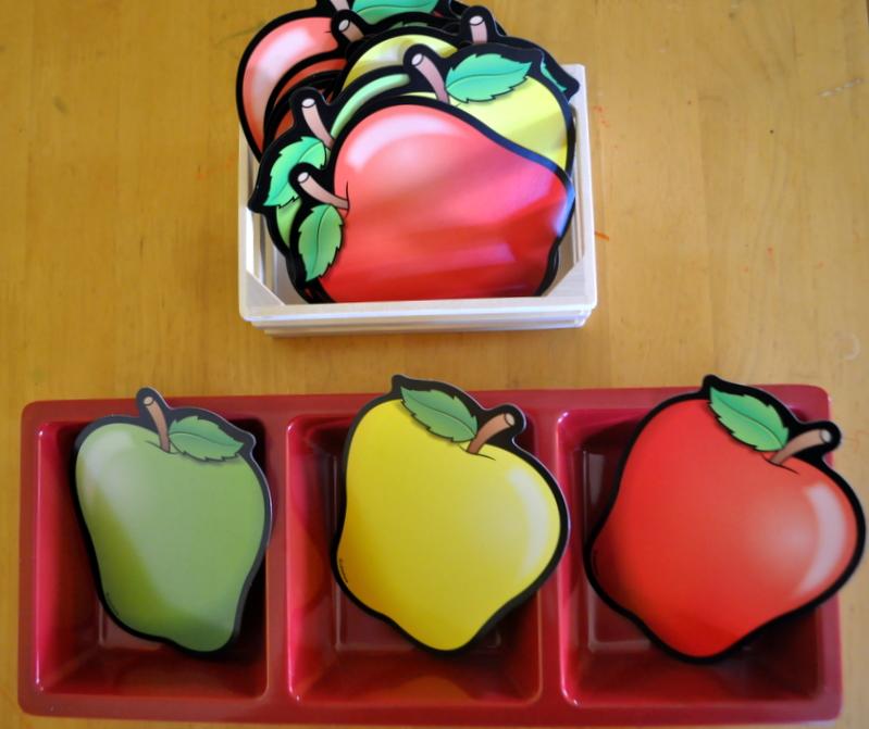 Apple Sorting Activity