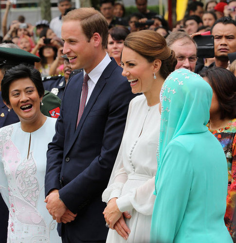 Will and Kate were all smiles in Malaysia on day four of their 2012 tour.