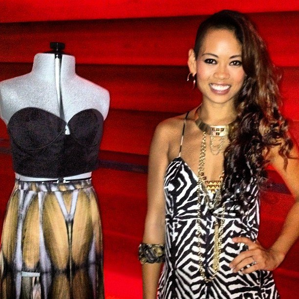 We caught up with Project Runway season nine winner Anya at her Spring '13 presentation.