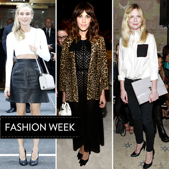 A Front-Row Look at NYFW's Celeb Style Set