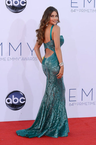 Sofia Vergara showed off her back in a cutout gown at the Emmys.