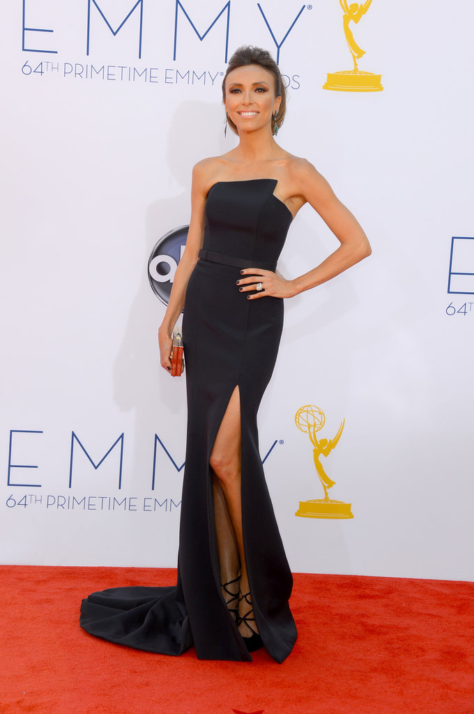 Giuliana Rancic took to the red carpet at the Emmys.