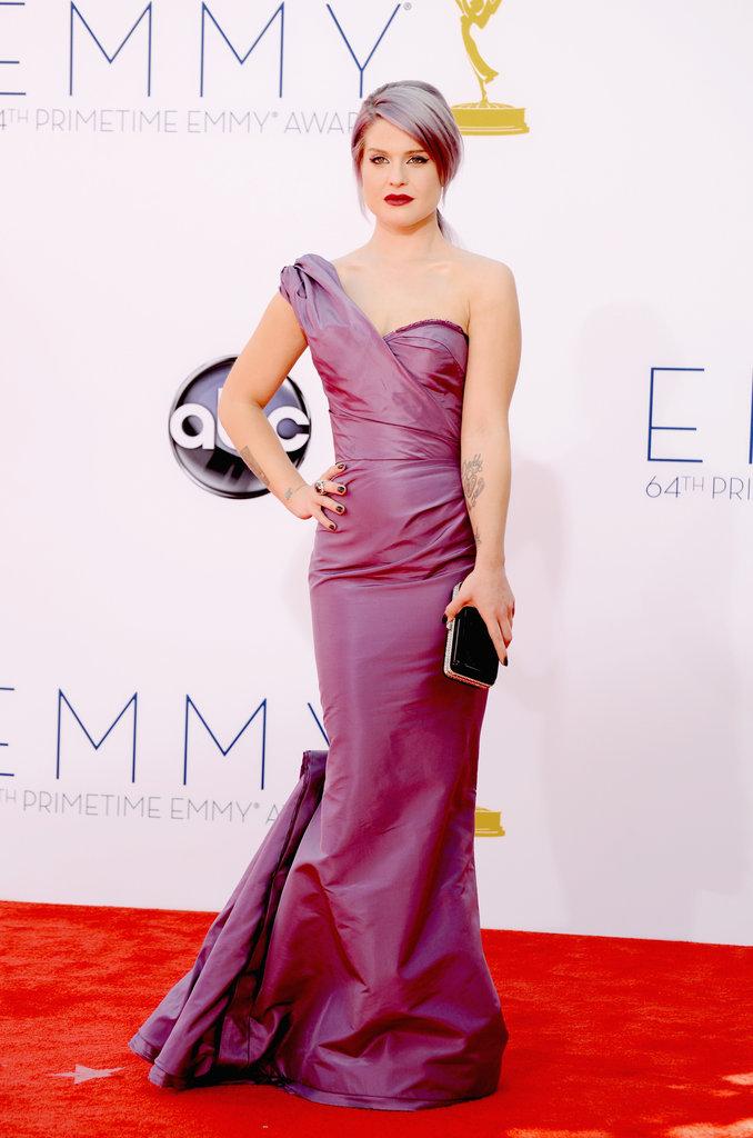 Kelly Osbourne carried a clutch.