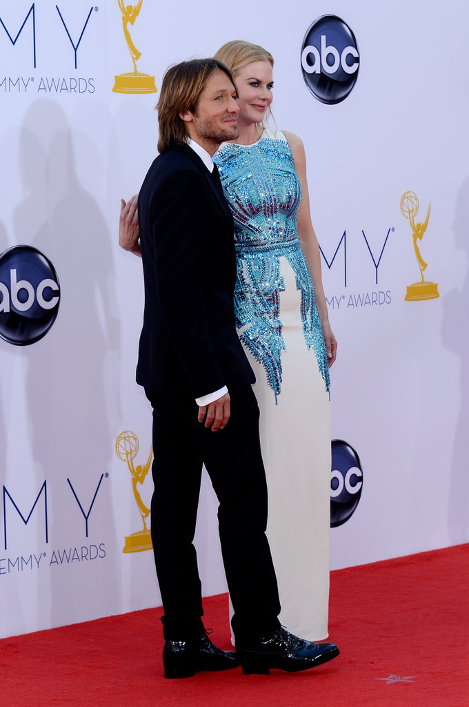 Nicole Kidman posed with her husband Keith Urban.