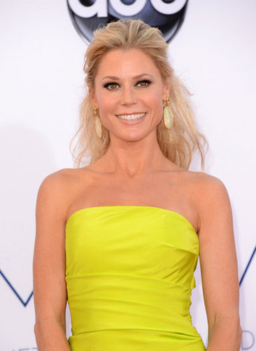 Julie Bowen rocked bright yellow.