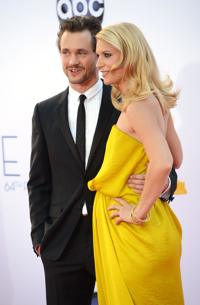 Claire Danes and Hugh Dancy posed together.