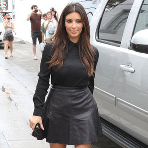 Kim Kardashian Wearing Chain Sandals