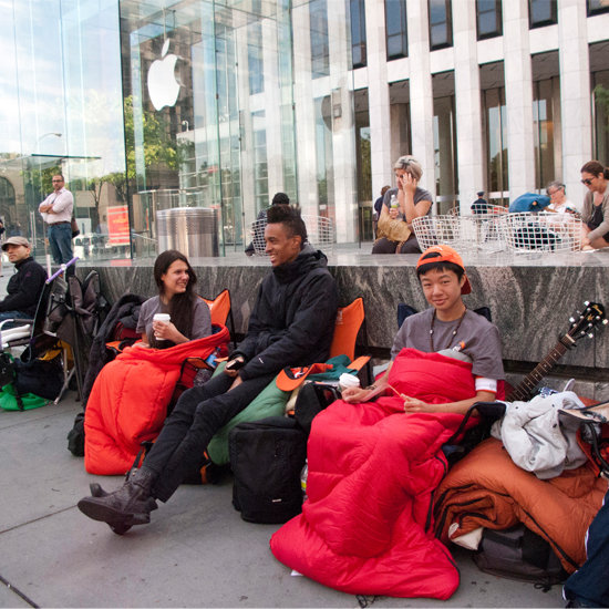 iPhone 5 Camp Out