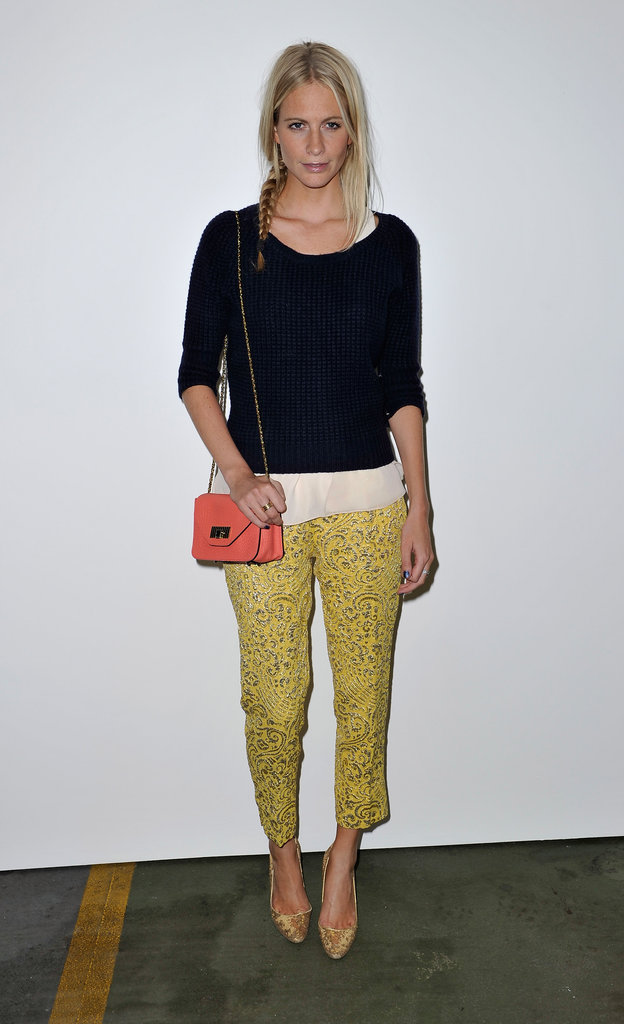 Poppy Delevingne at House of Holland