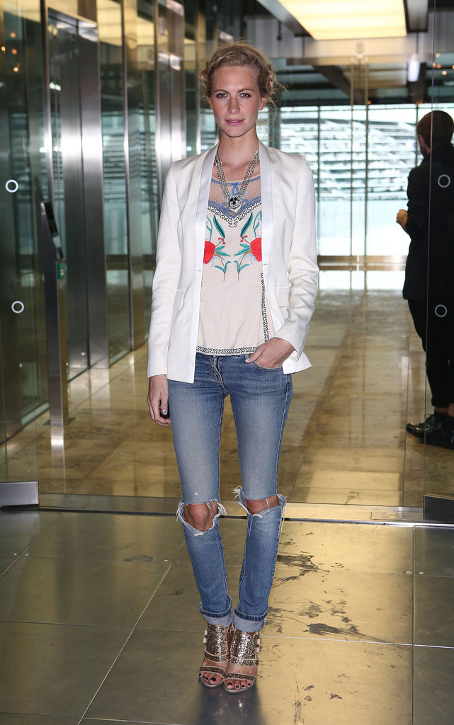 Poppy Delevingne at Matthew Williamson