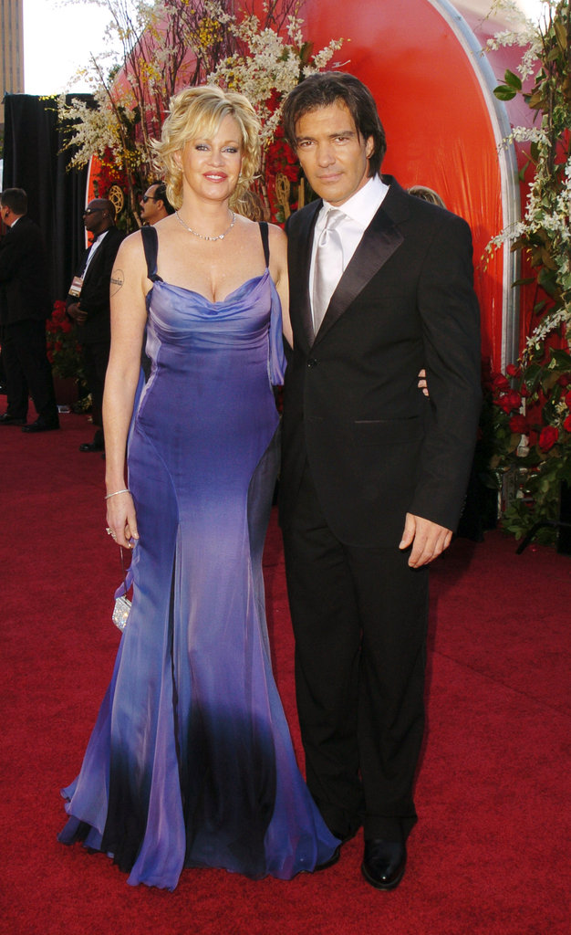 Melanie Griffith and Antonio Banderas hit the red carpet together in 2004.