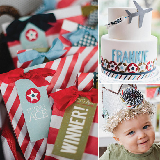 Frankie's Vintage Airplane Birthday Bash
