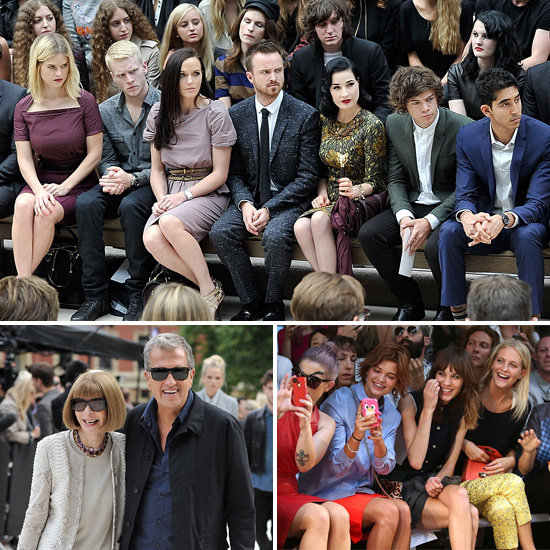 Check Out the Front Row Celebrities at 2013 Spring London Fashion Week