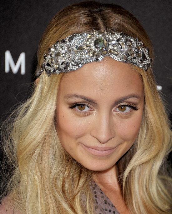 Nicole's embellished headband stole the show at Fashion's Night Out in 2011.