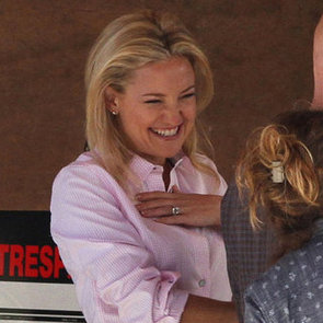 Kate Hudson Shooting HBO Movie Clear History | Pictures