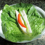 Turkey Lettuce Roll-Up Recipe