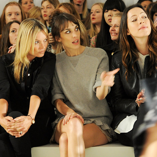 Kate Moss, Alexa Chung, Lana Del Rey Pictures Front Row at Mulberry London Fashion Week