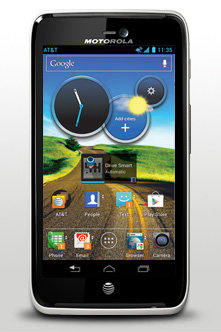Motorola Atrix HD Android Phone ($100 with contract, $450 without contract)