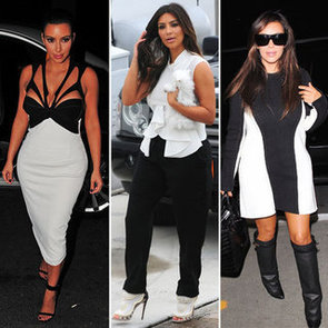 We're Applauding Kim Kardashian's New, Chic, Monochrome Makeover. Should We be Thanking Kanye West