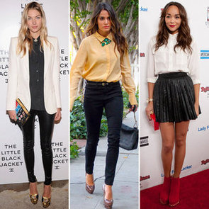 Button-Down Blouses (Celebrity Pictures and Shopping)