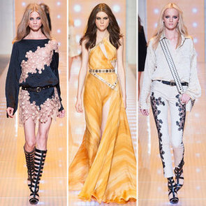 All The Catwalk Pictures From The Versace Runway Show At Milan Fashion Week