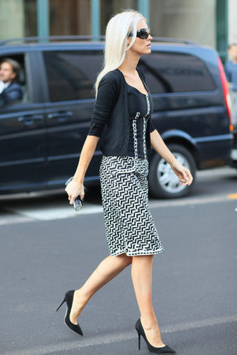 This street-styled ensemble is perfect for your nine-to-five styling inspiration. Source: Greg Kessler
