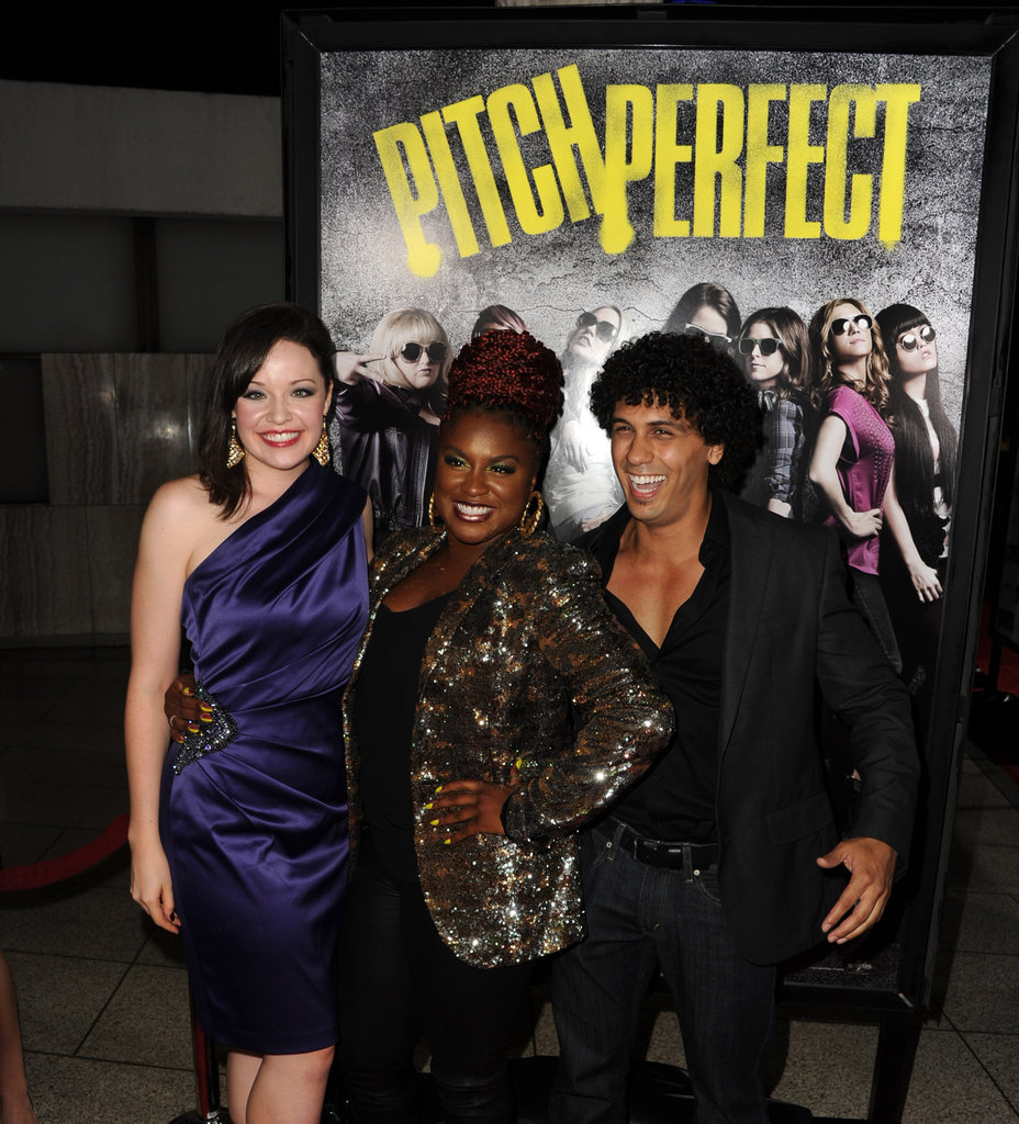Elizabeth, Rebel, and Anna Premiere Pitch Perfect With Smiles and Laughs